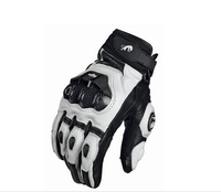 Leather Racing Glove Motorcycle Gloves ride bike driving bicycle cycling Motorbike Sports moto racing gloves