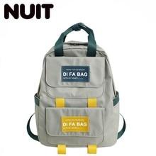 Female Designers Backpacks Bagpack Nylon Casual Fashionable School Back Pack Bookbags For Teenage Girls  Schoolbag
