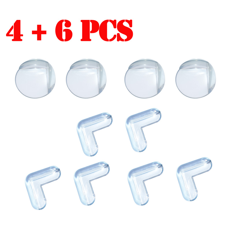 10pcs/lot Baby Safety products Corner Protector kids children protection safety baby security product silicone corner safe baby