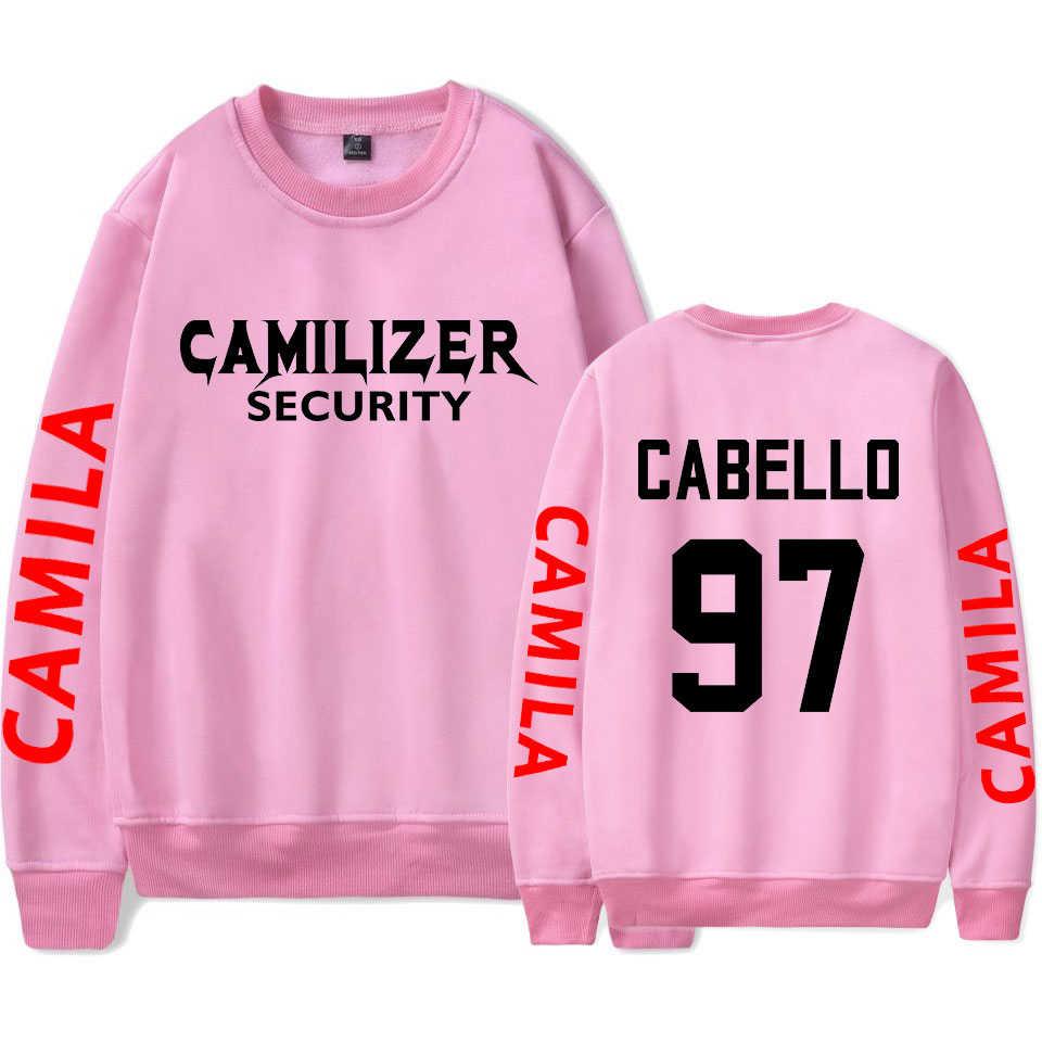 546ff243475e7 Camila Cabello Never Be The Same Tour O-Neck Sweatshirts Women/Men Fashion  Long Harajuku Sweatshirt Hot Sale Streetwear Clothes