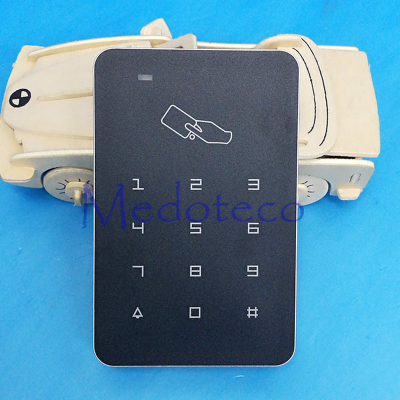 цена на Rfid Access Control High Security RFID Proximity Entry Door Lock Access Control System 1000 User + optional Rain Cover