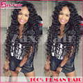 Virgin Full Lace Human Hair Wigs Glueless Stocked For Black Women Human Hair Full Lace Wigs Curly Unprocessed 7A Full Lace Wigs