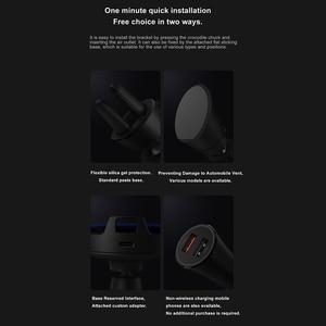 Image 5 - 원래 xiaomi 무선 자동차 충전기 20 w 빠른 충전기 자동차 휴대 전화 홀더 슈퍼 빠른 충전 스탠드 mi9 아이폰 xs 최대