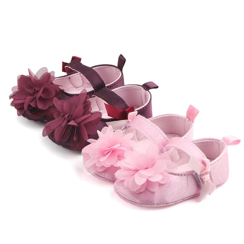 #babymaryjaneshoes#baby Hoo-look Shoes  Soft Sole Flower Shoes Baby Birthday Partyshoes .