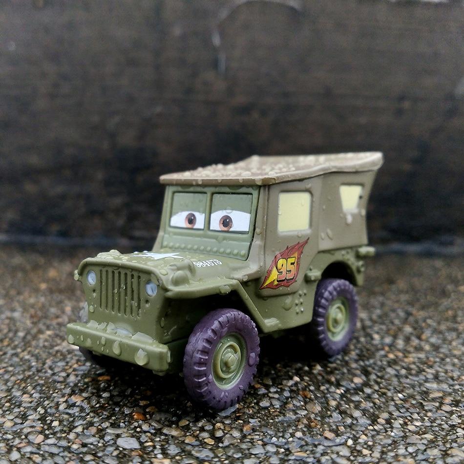 Disney Pixar тачки 3 20 стильные игрушки для детей Молния Маккуин Высокое качество Пластиковые тачки игрушки модели персонажей из мультфильмов рождественские подарки - Цвет: 18