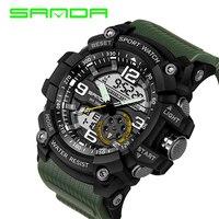 2018 Top Brand Luxury Military Waterproof Sport Watch For Mens WristWatch Relogio Masculino Watches Multifunction Clock