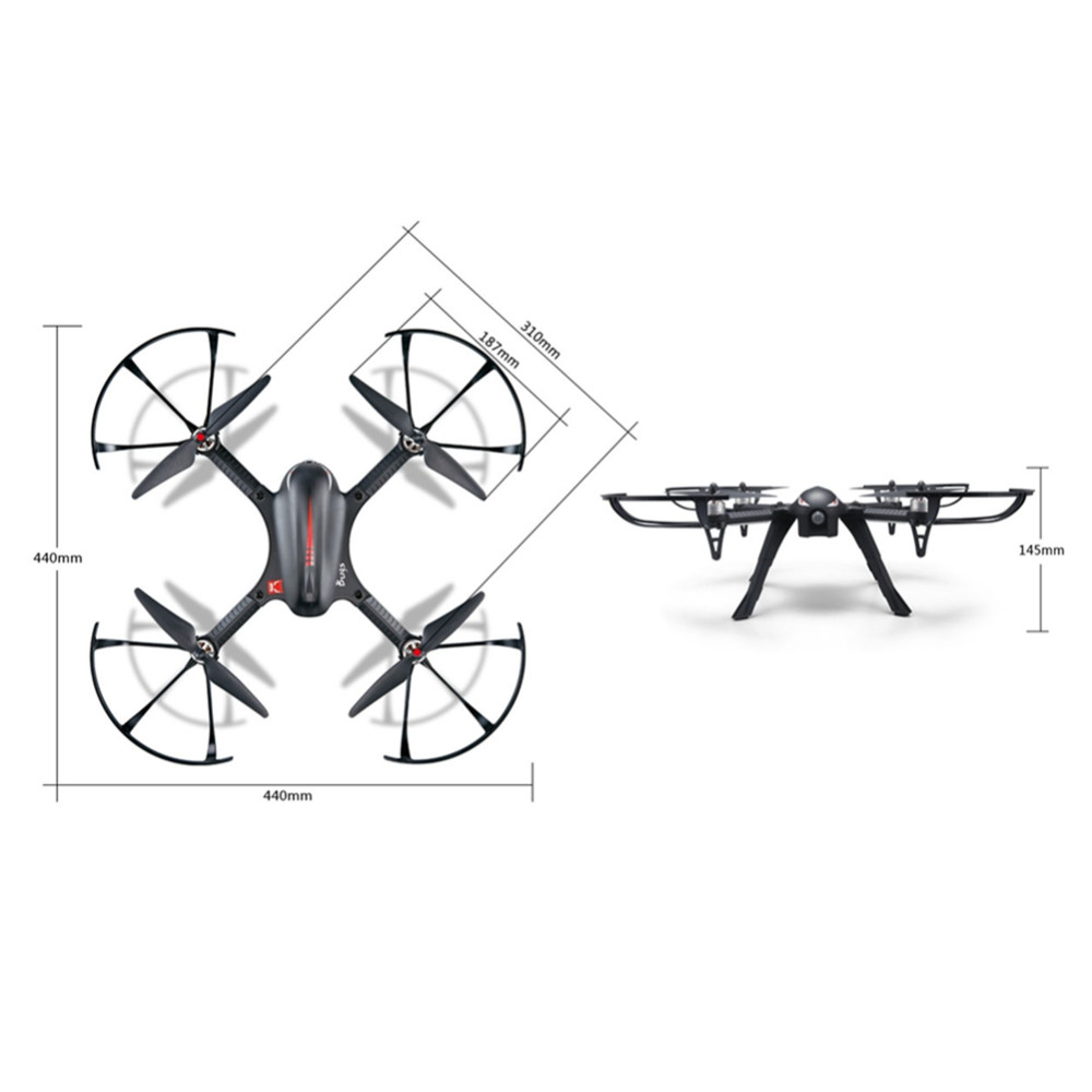 B3 Bugs 3 RC Quadcopter Brushless 2.4G 6-Axis Gyro Drone with Camera Mounts for Gopro Camera free shipping 8