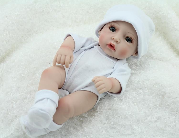 Aliexpress Com Buy Lifelike Baby Dolls 11 Inch Vinyl