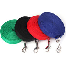 1.5M 1.8M 3M 4.5M 6M 10M Nylon Dog Leash for Dogs Puppy Chihuahua Walking Dog Lead Leashes Training Pet Dog Harness Supplies