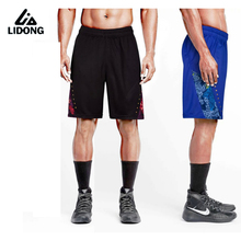 New Men loose shorts sport training fitness mens running basketball football shorts quick dry bermuda homme