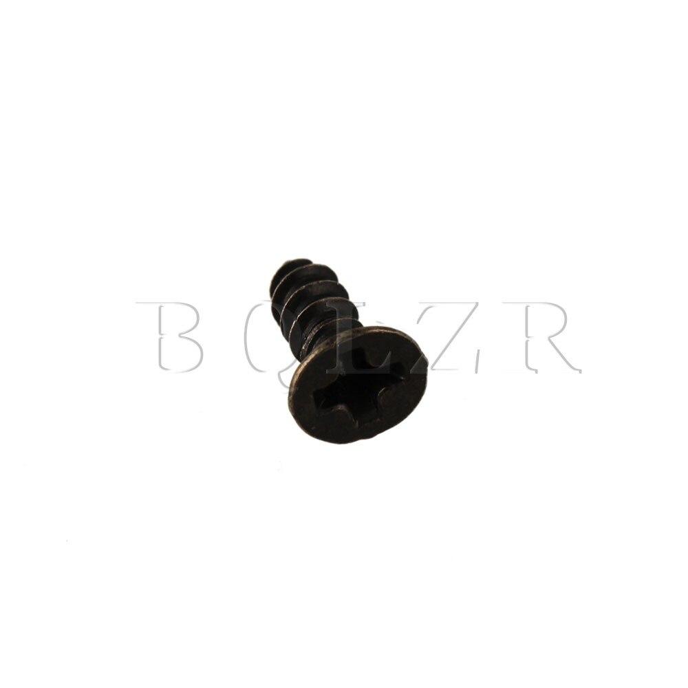 100g 6x2mm Small Mini Metal Countersunk Head Screws for Hardware Bronze