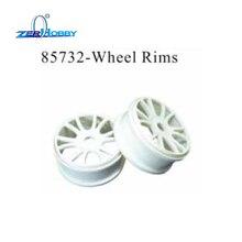 RC CAR SPARE PARTS ACCESSORIES WHEEL RIMS WHEEL COMPLETE FOR HSP 1/8 NITRO R/C TRUCK 94763 (part no. 85732, 62053, 62054)