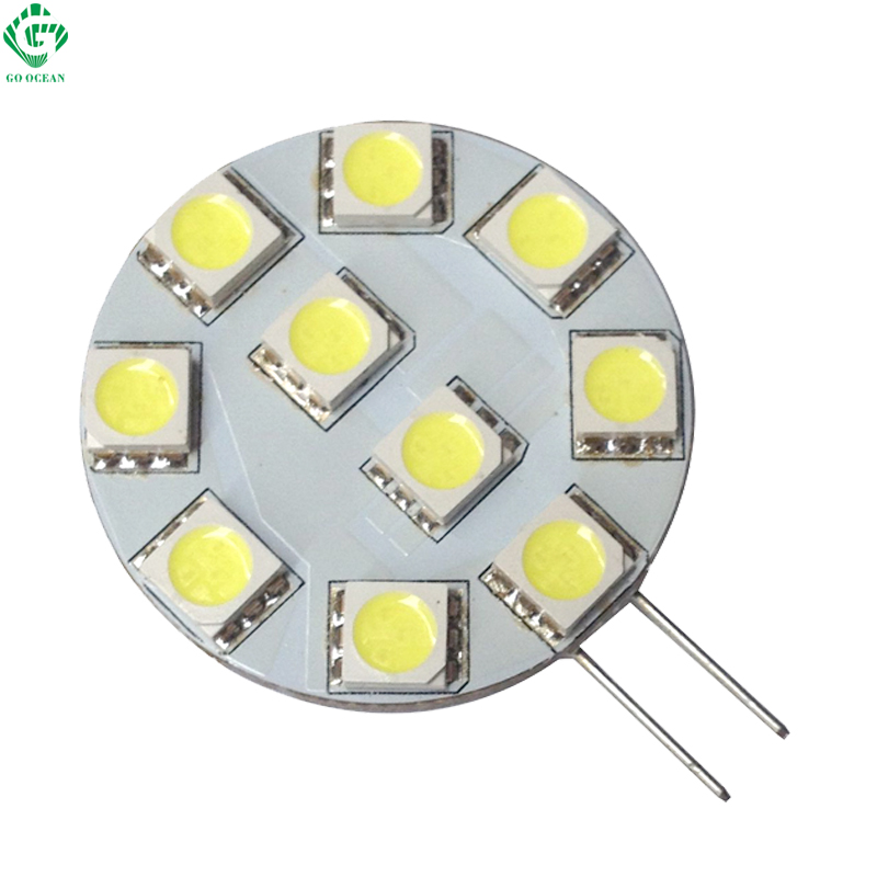 G4 2W LED Bulbs Candle Lights 24V 12V Dimmable PWM Equal 15W Halogen Lamp For Car