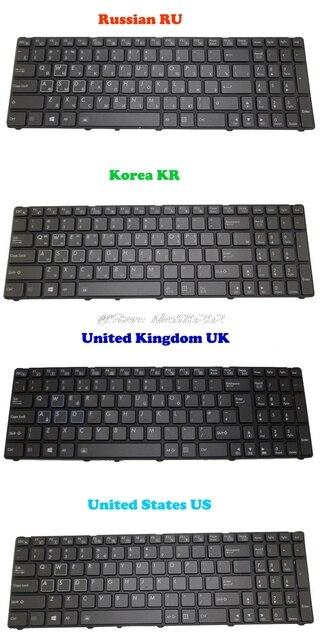US $69 7 |Backlit Keyboard For Gigabyte P25K P25W V2 P25W CF1 P25W CF2 P25W  CF3 P25X V2 P25K CF2 V111465ES1 Korea KR Bahasa Rusia RU Bahasa Indonesia