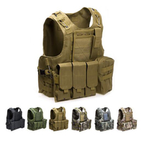 Amphibious Tactical Hunting Molle Vest Men Airsoft Paintball Sport Protection Body Armor USMC Military Vest