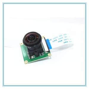 Image 4 - Raspberry Pi Модуль камеры OV5647 5MP 175 градусов широкоугольный объектив рыбий глаз Raspberry Pi 3/2 Модель B модуль камеры