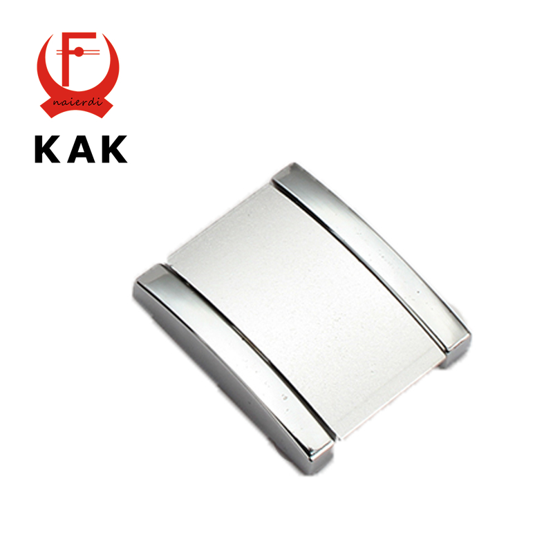 Brand KAK 1PC Hole Pitch 32MM Aluminum Alloy Handles With Screws Drawer Furniture Wardrobe Knobs Pull Cabinet Kitchen Hardware