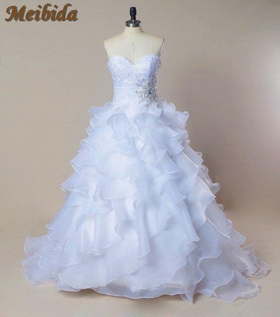 País Occidental de La Boda Vestido de novia vestido 2016 Sweetheart ...