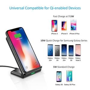 Image 5 - CHOETECH Wireless Charging 10W QI Fast Wireless Charger stand Wireless Charging Station For iPhone 12 Samsung huawei xiaomi