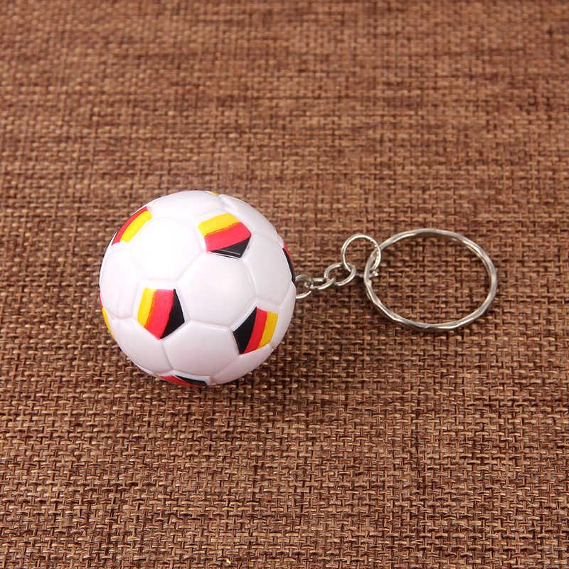 SUKI спортивный брелок для ключей Автомобильный ключ брелок ABS Германия Печатный мини милый футбольный кулон брелок для любимого спортсмена подарок