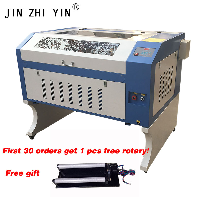 Laser Engraver 6090 100W EFR Tube Laser Cutting Machine For Laser Engraving 600*900mm With Usb Interface