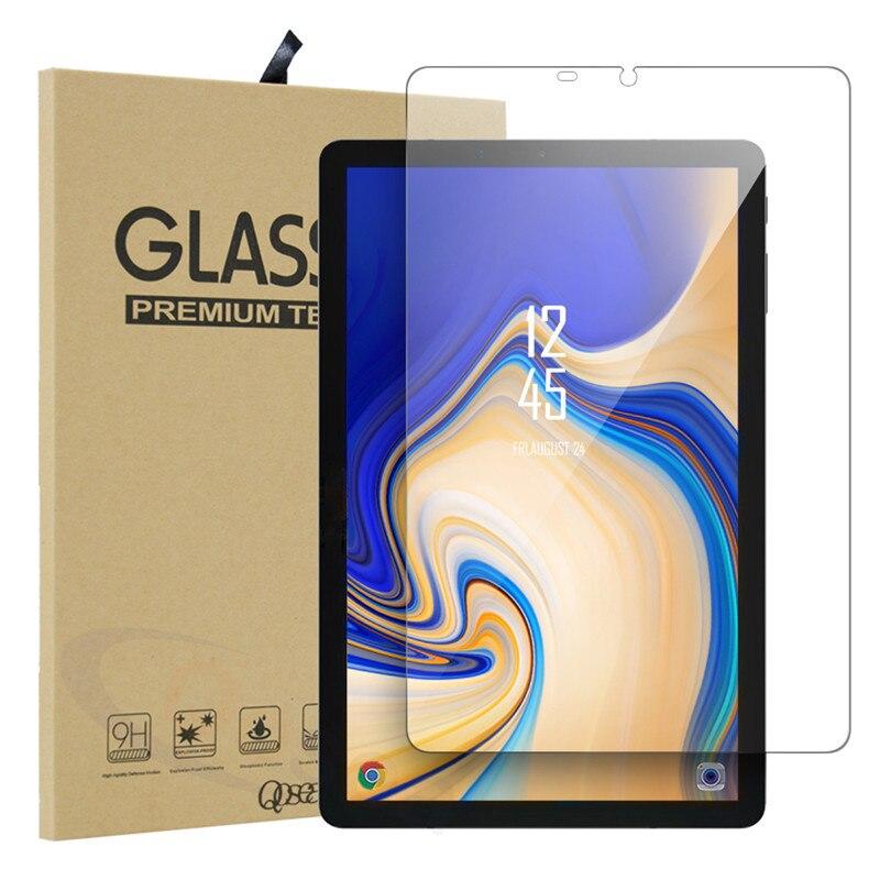 Qosea En Verre Trempé Pour Samsung Galaxy Tab S4 10.5 T830 T835 T837 Écran Protecteur Ulite-mince Clair Tab S4 10.5 De Protection Film