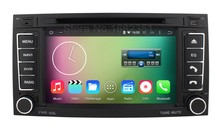 Quad core Android 5.1.1 Car DVD Radio Player GPS for Volkswagen VW Touareg T5 Multivan Transporter with Mirror-link WiFi BT