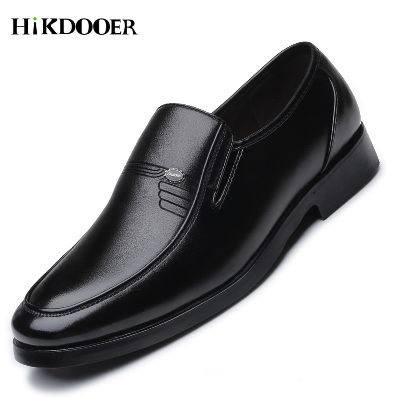 Luxury Brand Men Leather Formal Business Shoes Male Office Work Flat Shoes Oxford Breathable Party Wedding Anniversary Shoes|Formal Shoes|   - AliExpress