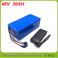 ebike lithium battery 48v 30ah lithium ion bicycle 48v 2000w electric scooter battery for kit electric bike For Panasonic Cell