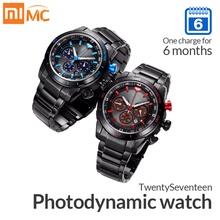 Xiaomi twentyseventeen photodynamic watch 스마트 시계, 사파이어 표면과 일본 운동 다기능 스포츠 시계