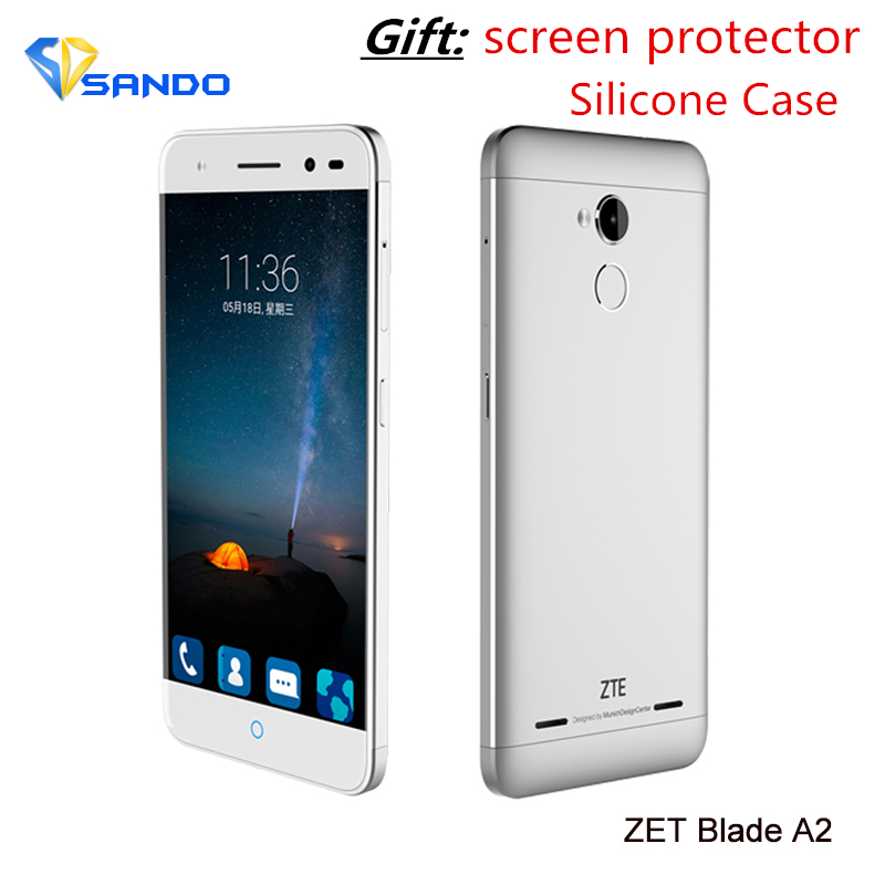 ZTE Blade A2 MTK6750 Octa Core 4G LTE Smartphone 5.0 inch HD 2GB RAM 16GB ROM Android 5.1 13MP Dual SIM Touch ID Mobile phone