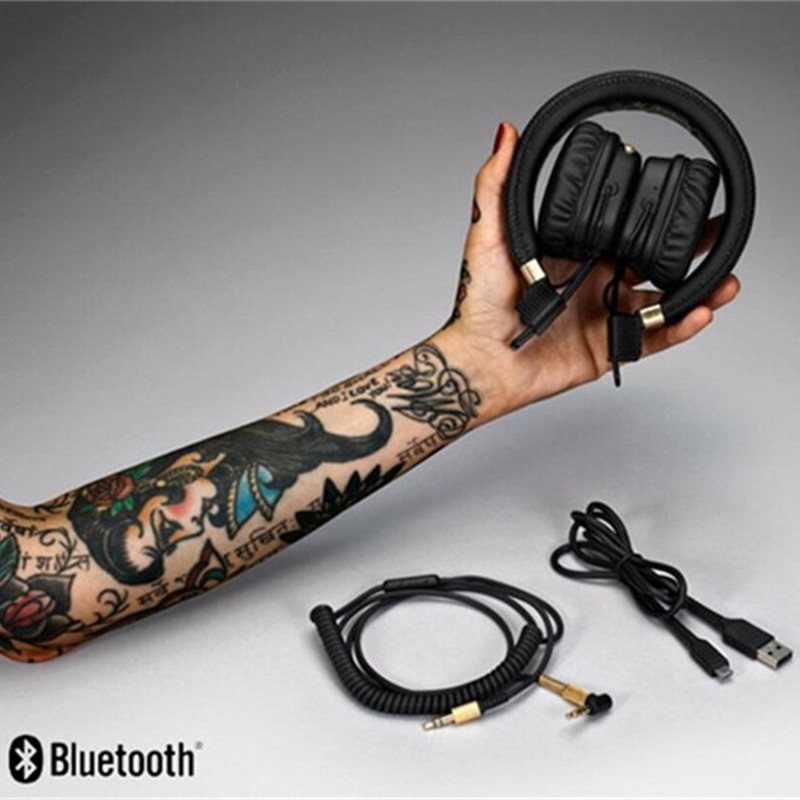 MAJOR II Wireless Headphone For Marshall Deep Bass Noise Canceling Bluetooth headset MAJOR 2 Headphone With Mic with retail Box