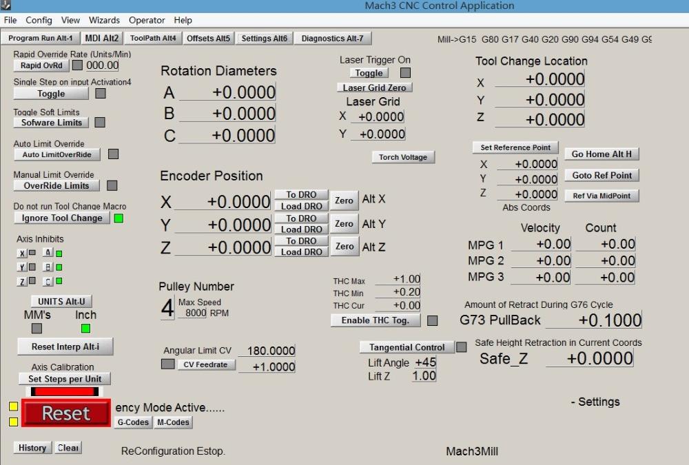 Mach3 Calibrate Axis