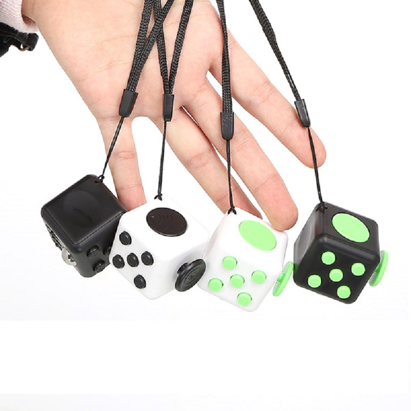 2017 A vinly Desk Toy Fidget Cube Relieves Stress and Anxiety Juguete For Adults Squeeze Fun Magic Fidget Cube Desk Spin Toys