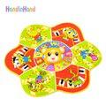 Esteira do Jogo do bebê Tapete de Língua Russa Para O Bebê Brinquedos Animais Bonitos Tapete Musical Para Crianças 0-12 Meses