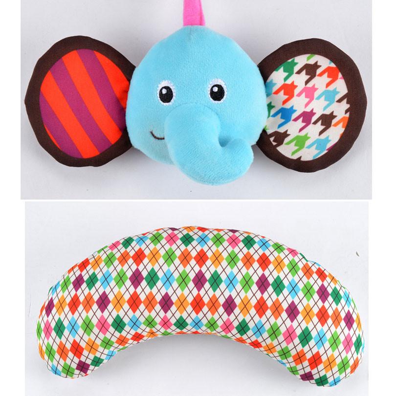 Baby Activity Mat Crawling Mat Play Mat Pad Teether Animals Panda Elephant Waterproof Early Education Baby Toys gift 3