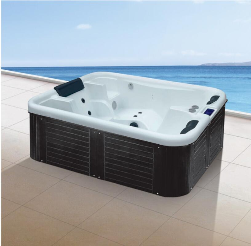 2010X1650X750mm 3 people Swimming Pool whirlpool Bathtub Acrylic Hydromassage Surfing Multi-people SPA NS2018