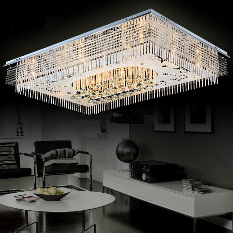 crystal led ceiling light lamps luxury ceiling lighting fixture lamparas techo plafonnier led iluminacion techo crystal