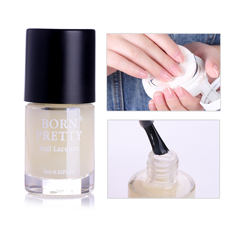 BORN PRETTY 9ml Nail Replenishing Base Coat Oil Avocado Reinforcement Transparent Nail Cure Polish Manicure Nail Art Nourishment