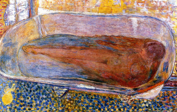 The Large Bath, Nude by Pierre Bonnard oil painting on canvas for living room decoration