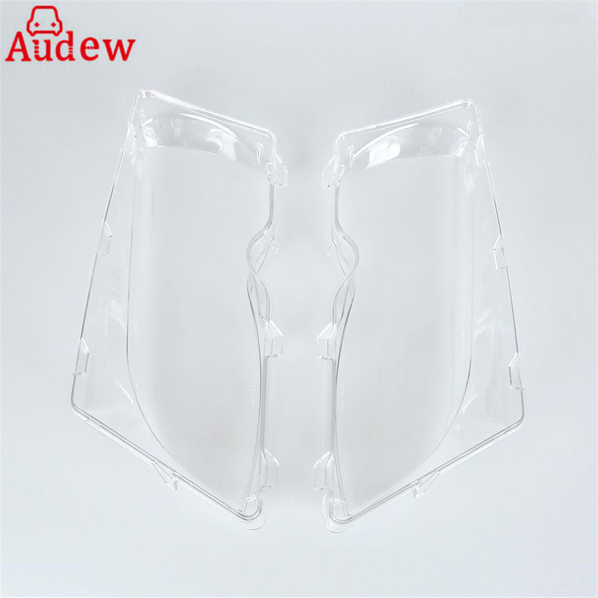 1Pair Car Lights Headlight Shell Lamp Cover Glass Replacement Lens For BMW E46 318i/320i/ 325i/ 325xi/ 330i/330xi (2002-2005)
