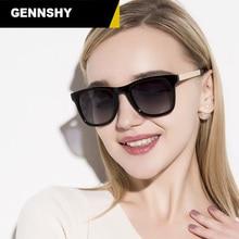 New Polarized Sunglasses Women Man Retro Square Sun Glasses Lady Fashion Brand Design Eyewear Black Frame Mirror Lenses