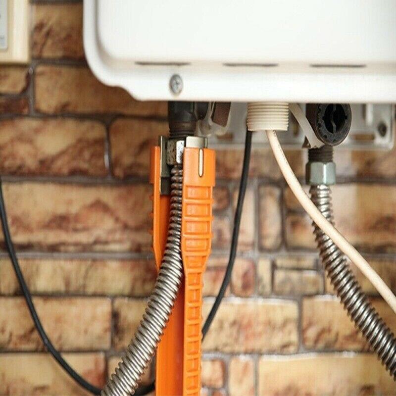 Кран установщик раковины водопровод гаечный ключ инструмент для сантехников домовладений