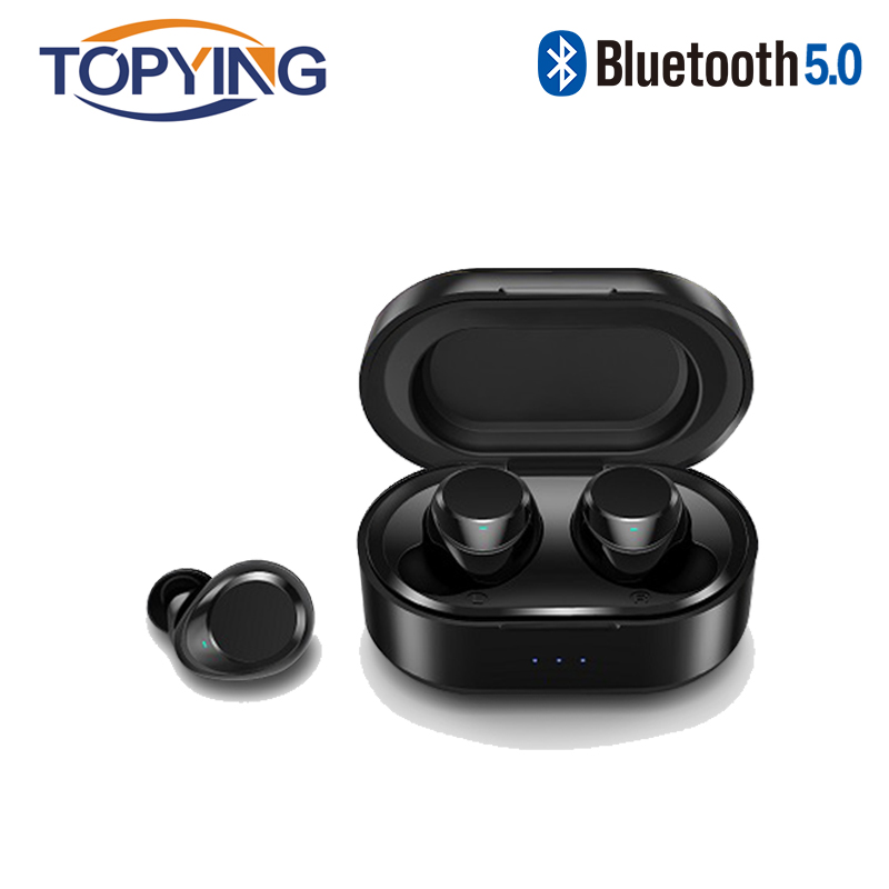 2019 <font><b>tws</b></font> mini headset wireless bluetooth earphone stereo earbud headset With Charging Box Mic For huawei Xiaomi All Smart Phone image