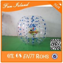 Бесплатный Логотип Горячие Продажи Прочный Надувные Бампер Бурлящий Шарик Для Футбола, Футбол Пузырь Бесплатная Доставка