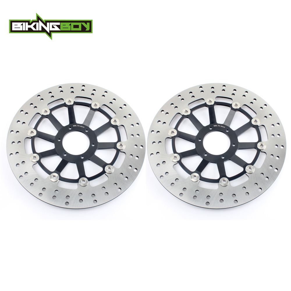 BIKINGBOY For Honda CBR 900 RR CBR900RR Fireblade / Japan 1998 1999 98 99 Floating Full Set Front Brake Discs Disks Rotors-in Brake Disks from Automobiles & Motorcycles    1