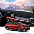 Car Styling For KIA K3 Cerato Forte BD 2019 2020 Rose Pattern Dashboard Mat Protective Interior Photophobism Pad Shade Cushion