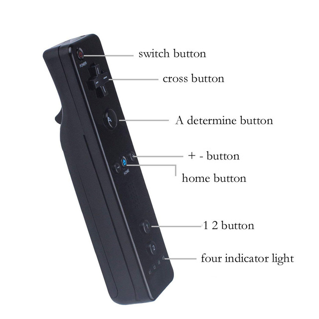 For Nintend Wii Wireless GamePad Remote Controle Without Motion Plus+Nunchuck Controller Joystick For Nintendo Wii Accessories