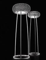 Patricia Urquiola acryl crystal clear modern luxurious decor floor lamp for living room bar H154/175cm AC95 260V 1751