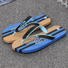 2019 High Quality Men's Shoes For Male Slippers antiskid beach Fashion Summer Men Flip Flops Outdoor Soft Casual Shoes Men